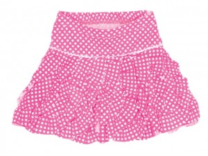 Mim-Pi Rock neon pink Punkte