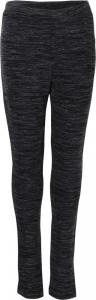 Blue Effect Mädchen Legging schwarz weiß meliert