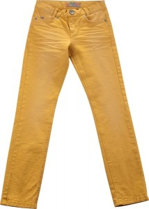 Blue Effect Jungen coloured Jeans USED-LOOK ocker