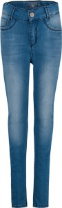 Blue Effect Mädchen High-Waist Jeans blue bleached NORMAL