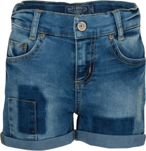 Blue Effect Mädchen Jeans-Short Patch blue denim light