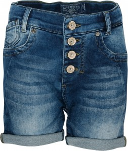 Blue Effect Mädchen Boyfriend-Jeans-Short sweat blue denim