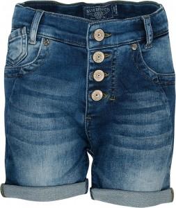 Blue Effect Mädchen Boyfriend-Jeans-Short sweat blue denim
