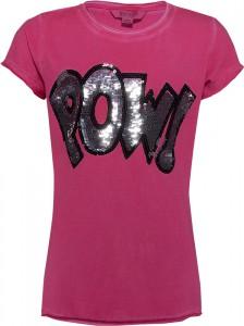 Blue Effect Mädchen T-Shirt Wendepailletten POW pinky
