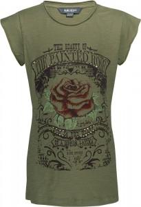 Blue Effect Mädchen T-Shirt ROSE khaki