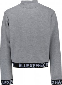 Blue Effect Mädchen Boxy Sweat-Shirt grau melange
