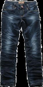 Blue Effect Mädchen Jeans 118 super-Röhre dunkelblau NORMAL