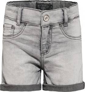 Blue Effect Mädchen Jeans-Short grey bleached NORMAL