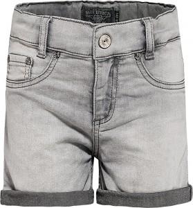 Blue Effect Mädchen Jeans-Short grey bleached NORMAL