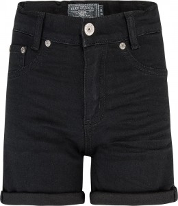 Blue Effect Mädchen High-Waist Jeans Short black clean NORMAL