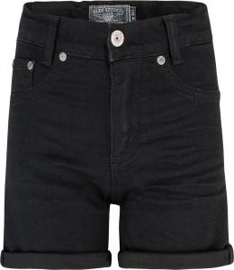 Blue Effect Mädchen High-Waist Jeans Short black clean NORMAL