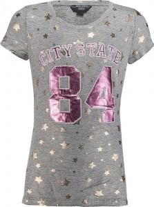 Blue Effect Mädchen T-Shirt CITY STATE 84 grau melange