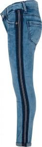 Blue Effect Mädchen cropped Jeans light blue side stripe NORMAL