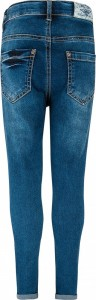 Blue Effect Mädchen cropped High-Waist Jeans blue medium NORMAL