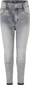 Blue Effect Mädchen cropped High-Waist Jeans medium grey NORMAL