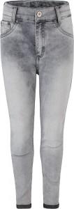 Blue Effect Mädchen cropped High-Waist Jeans medium grey SLIM