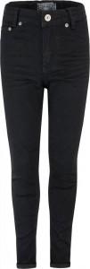 Blue Effect cropped Mädchen High-Waist Jeans black clean NORMAL