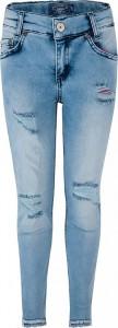 Blue Effect Mädchen cropped Jeans blue bleached SLIM