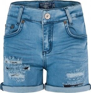 Blue Effect Mädchen Jeans Short destroyed blue bleached NORMAL
