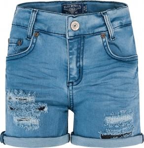 Blue Effect Mädchen Jeans Short destroyed blue bleached NORMAL