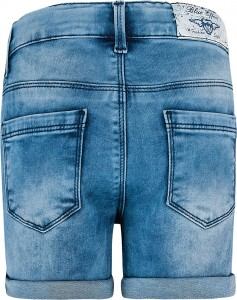 Blue Effect Mädchen Jeans Short Seitenstreifen light blue NORMAL