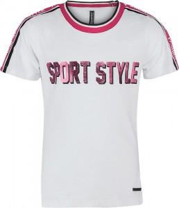 Blue Effect Mädchen T-Shirt SPORT STYLE schneeweiß