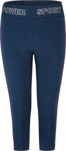 Blue Effect Mädchen cropped Legging mit Seitenstreifen dunkelmarine