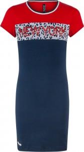 Blue Effect Mädchen Jersey-Kleid New York dunkelmarine