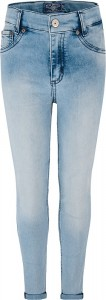 Blue Effect Mädchen cropped High-Waist Jeans blue bleached NORMAL