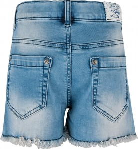 Blue Effect Mädchen Jeans-Short mit Spitze medium blue NORMAL