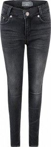 Blue Effect Mädchen Ultrastretch Jeans black soft used NORMAL