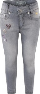 Blue Effect Mädchen Jeans Patches medium grey NORMAL
