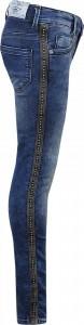 Blue Effect Mädchen Ultrastretch Jeans blue seitl. Metallplättchen NORMAL