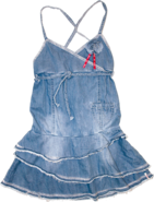 RETOUR Jeans Kleid Veronique blue denim