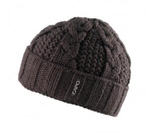 CAPO Beanie/Mütze dunkelbraun