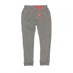 Mim-Pi Sweat-Hose grey melange