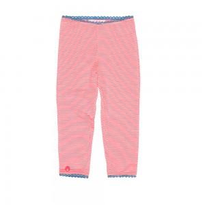 Mim-Pi Legging Streifen pink/weiß