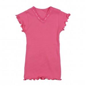 Mim-Pi Feinripp-T-Shirt soft pink