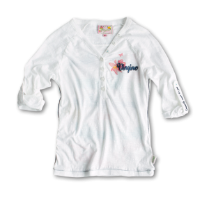 Vingino Shirt FLORA real white