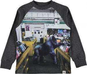 Molo Jungen Langarm-Shirt/Longsleeve RUZEL Record Store Colour
