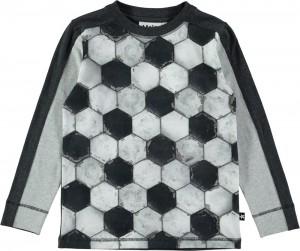 Molo Jungen Langarm-Shirt/Longsleeve RASO football structure