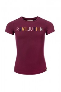 LOOXS REVOLUTION T-Shirt plum