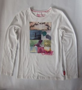 O´Neill Longsleeve/Langarmshirt mit Print weiss