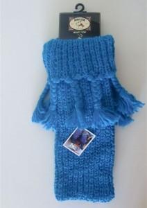 Bonnie Doon Stulpen / Beinwärmer Zöpfe blau