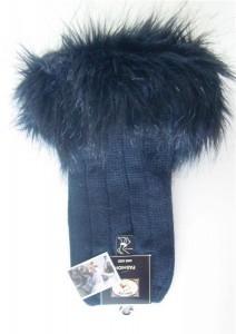 Bonnie Doon Damen Stulpen/Beinwärmer Cuff boot black