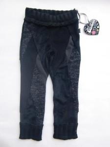 Carbone Legging multicolor black fur