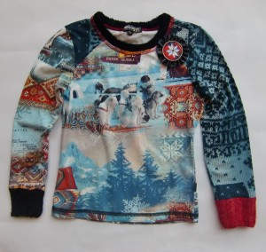 Carbone Langarmshirt / Longsleeve Eskimo-Print