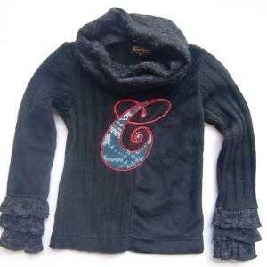 Carbone Pullover mit Schalkragen schwarz fur