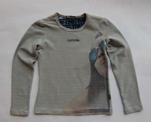 Carbone Langarmshirt / Longsleeve offwhite Photoprint