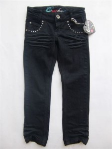 Carbone Stretch-Hose black denim